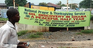 Ghana oil discovery
