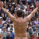 Mark Roberts at Wimbledon in 2002