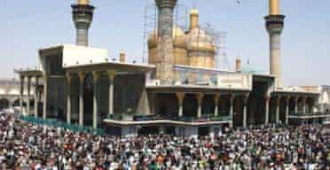 Shia pilgrims converge on the shrine of Imam Moussa al-Kadhim