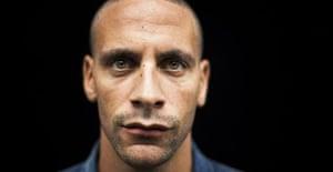 Manchester United centre-back Rio Ferdinand