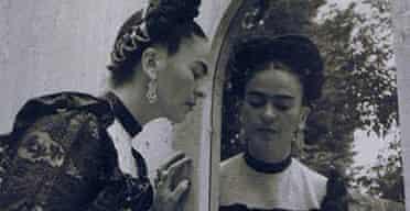 The Mexican artist Frida Kahlo (1907-1954)