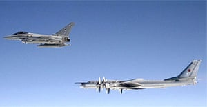 UK jets scrambled to intercept Russian aircraft | UK news | The Guardian
