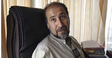 Izzatullah Wasifi, head of the Afghan government's anti-corruption authority.