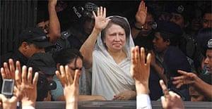 Former Bangladeshi prime minister Khaleda Zia