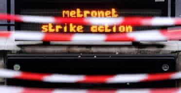 Oxford street tube station during Metronet strike