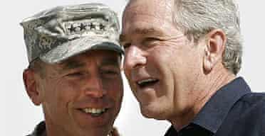General Petraeus and President Bush