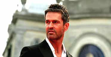 Rupert Everett on the red carpet prior the presentation of Atonement at the 64th Venice film festival
