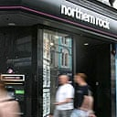 A Northern Rock building society in Newcastle
