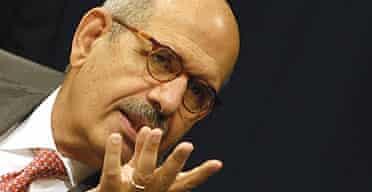 The head of the International Atomic Energy Agency (IAEA), Mohamed ElBaradei