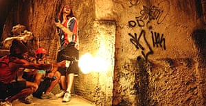 A scene from the 'Tropa de Elite' (Elite Squad). Even before its release the film has generated heat for its portrayal of a police war against criminal gangs