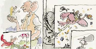 Quentin Blake's illustration for the Guardian
