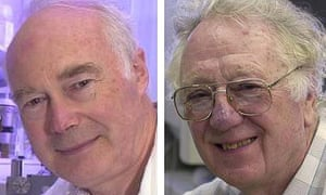 Sir Martin Evans and Oliver Smithies