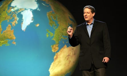 Al Gore in an Inconvenient Truth