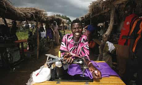 Katrine: market day sewing machine