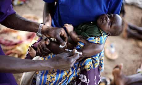 Katine health centre: UNEPI immunisation program for babies