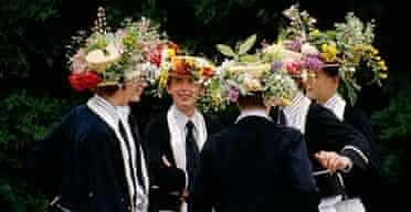 Eton College boys.