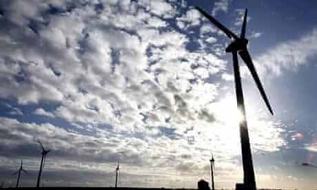 Burton Wold wind farm in Northamptonshire