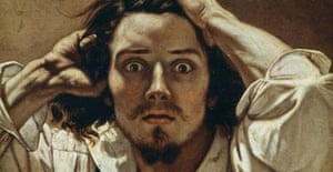 The Despairing Man, 1843-45, Gustave Courbet