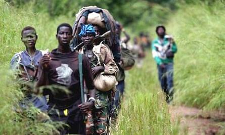 Katine - LRA rebels