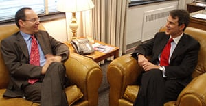 Philippe Sands and John Bellinger. Photo: Ed Pilkington