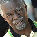 The South African president, Thabo Mbeki