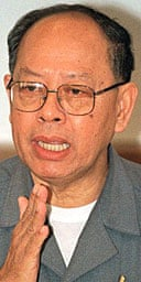 Former Khmer Rouge minister Ieng Sary