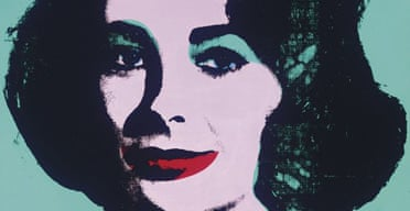 Portrait of Elizabeth Taylor, one of a series from Andy Warhol on sale at Christie's, New York.