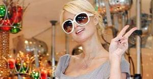 Paris Hilton visiting Tokyo last week