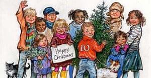 Gordon Brown's official Christmas card.