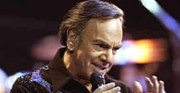Singer Neil Diamond performs at Madison Square Garden, New York in 2005.