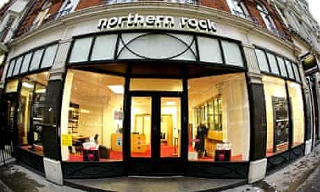 A Northern Rock bank branch in central London. It is understood nearly all the options to take over Northern Rock are likely to include redundancies