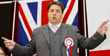 British National Party chairman Nick Griffin
