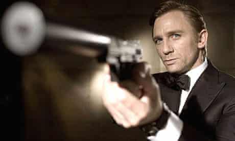 Daniel Craig, as James Bond