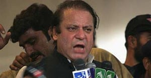 Nawaz Sharif speaks after his return to Pakistan