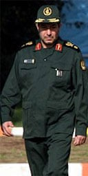 General Mostafa Mohammad Najjar, the Iranian defence minister