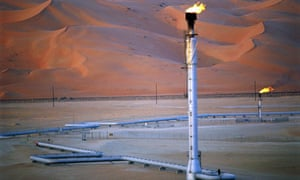 Shaybah, Saudi Arabia, where one plant's oil output is worth $50m a day