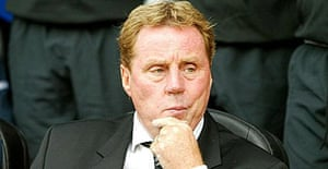 Portsmouth Football Club manager Harry Redknapp who was one of five men arrested by detectives investigating corruption in football.