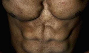 A bodybuilder who hasn't used steroids