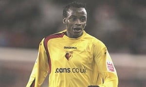 Watford FC star Al Bangura