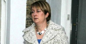 Jacqui Smith leaves home