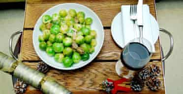 Brussel sprouts with chestnuts from Waitrose
