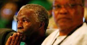 Thabo Mbeki and Jacob Zuma