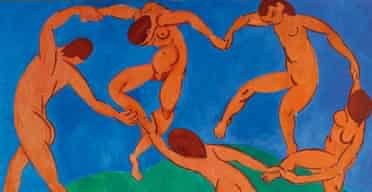 A detail from The Dance by Matisse