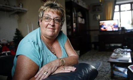 Rosaline Wilson from Guisborough, Teeside, who won an equal pay claim against her local council employers