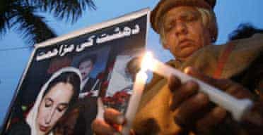 Vigil for Benazir Bhutto