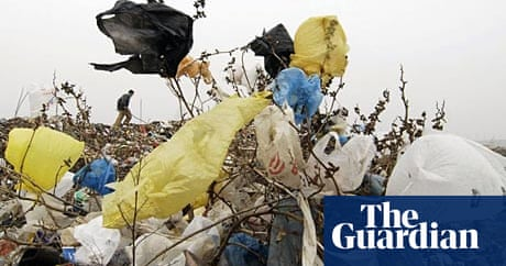 Where Do All The Plastic Bags Come From News The Guardian