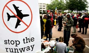 Protest against the Heathrow airport expansion