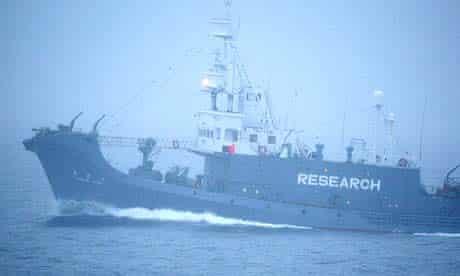 Japanese whaling ship the Yushin Maru