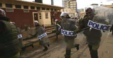 Police in Kenya