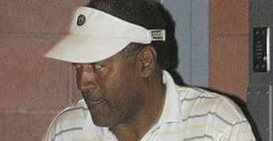 OJ Simpson leaves the Clark County jail in Las Vegas